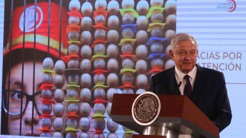 Andrés Manuel López Obrador(Agencia Reforma)
