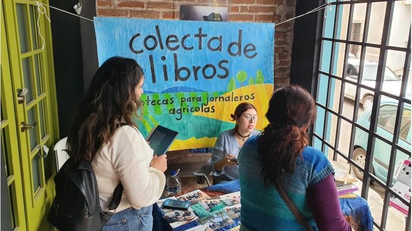 Colectan más de 300 libros para jornaleros(GH)