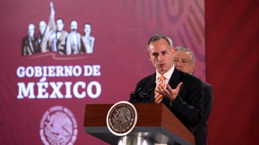 Hugo López- Gatell Ramírez(Agencia Reforma)