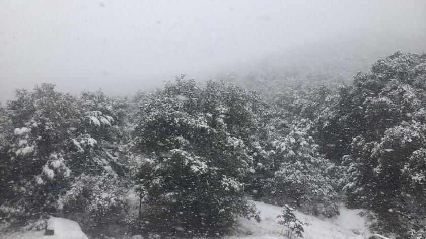 Estas condiciones se deben al ingreso de un frente frío.(Especial)