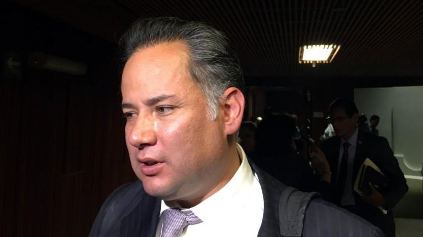 Santiago Nieto, titular de la Unidad de Inteligencia Financiera.