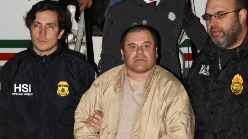 """Joaquín """"El Chapo"""" Guzmán se encuentra en una cárcel de máxima seguridad cumpliendo una condena de cadena perpetua.(Archivo.)"""