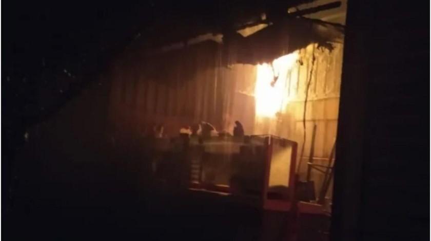 Se incendia otro mercado; ahora en Tepito(GH)