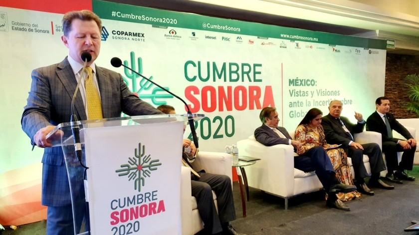 Inicia el evento Cumbre Sonora 2020 en los Lagos.(Julián Ortega)