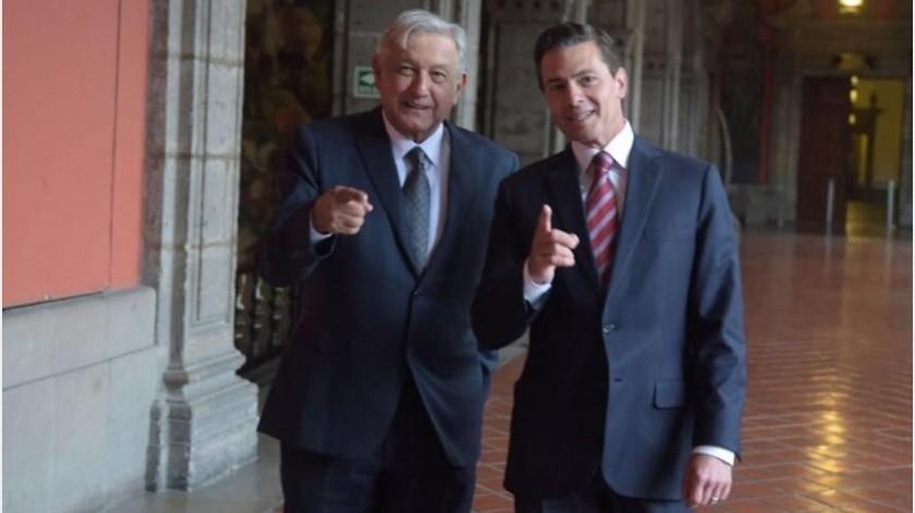 """Niega AMLO """"pacto secreto"""" con Peña Nieto(Twitter/ @EPN)"""
