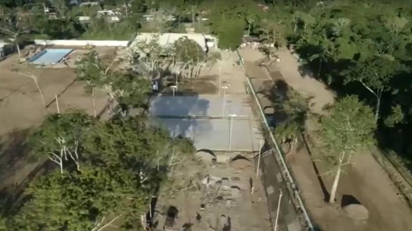 Avanza construcción de centro social Carlos Romero Deschamps en Tabasco(Agencia Reforma)