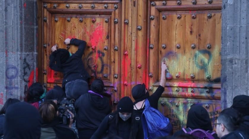El Presidente se comprometió a castigar los feminicidios y a evitar los crímenes de odio.(Agencia Reforma)