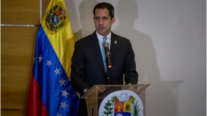 El pasado martes, el opositor Juan Guaidó, a quien más de 50 países reconocen como presidente interino de Venezuela, arribó a Caracas junto a su tío, Juan José Márquez, en el vuelo TP-173 de TAP.(EFE)
