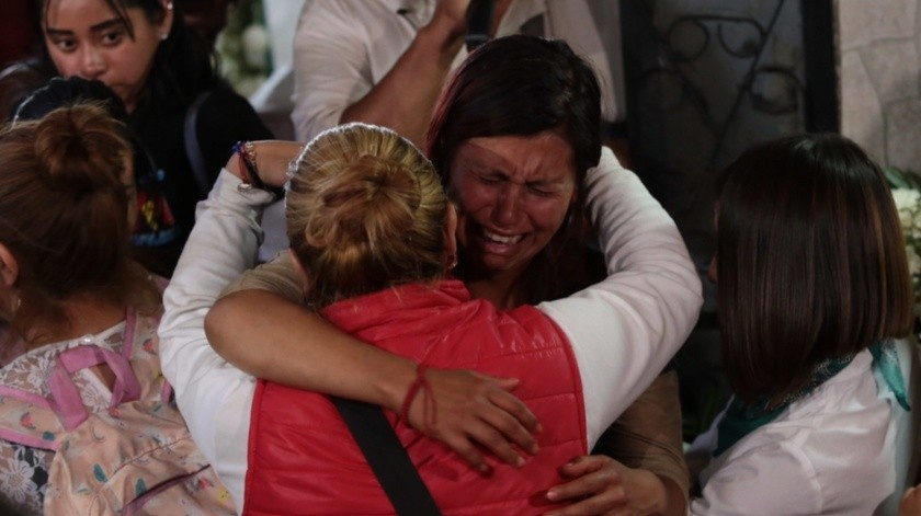 Último adiós a Fátima.(Agencia Reforma)