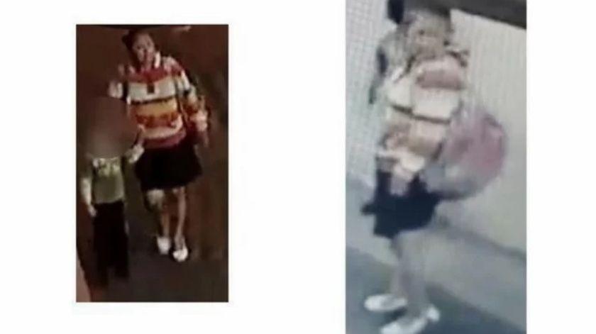 Esa mujer fue identificada por vecinos y madres de familia de la escuela Primaria Enrique Rébsamen.(Especial)