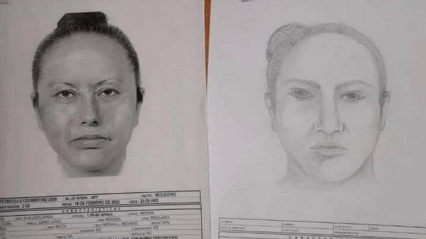 El documento detalla que se trata de una mujer, de 42 a 45 años, de complexión mediana, tez morena clara, cabello largo lacio, cara redonda, ojos pequeños nariz recta y mentón oval.(PGJ)