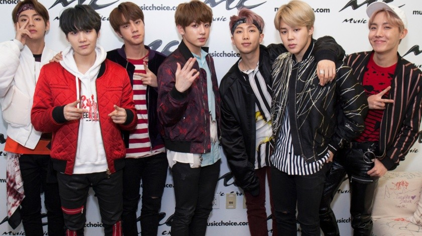 BTS Visits Music Choice(2017 Santiago Felipe, Getty Images North America)
