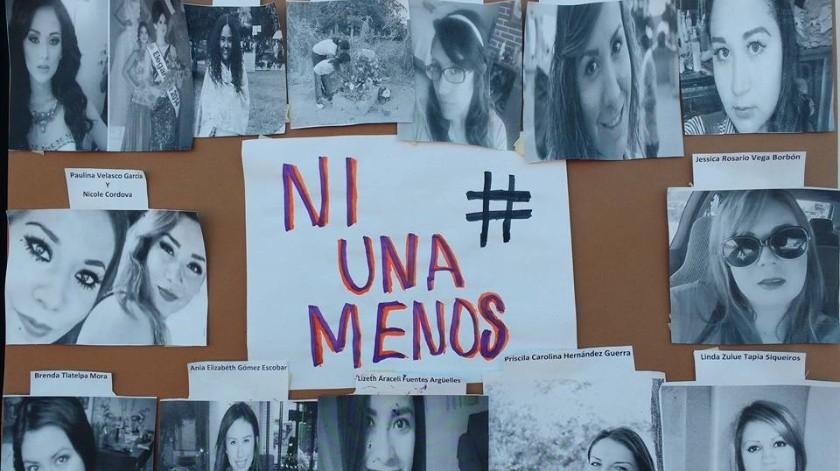 El paro nacional #UnDíaSinNosotras ha sido convocado en protesta por los acontecimientos violentos y feminicidios.(Archivo)