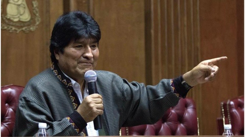 """El exmandatario lamentó que """"este inhabilitación es un atentado a la democracia"""" y que el Gobierno interino de Jeanine Áñez tiene """"miedo a la democracia"""".(EFE)"""