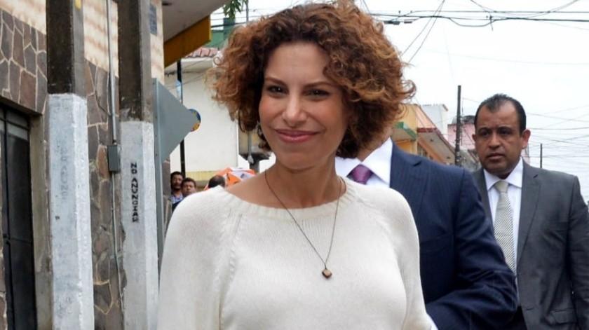 Karime Macías, ex esposa de Javier Duarte.(Archivo)