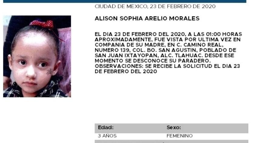 Alison Sophia Arelio Morales(Especial)