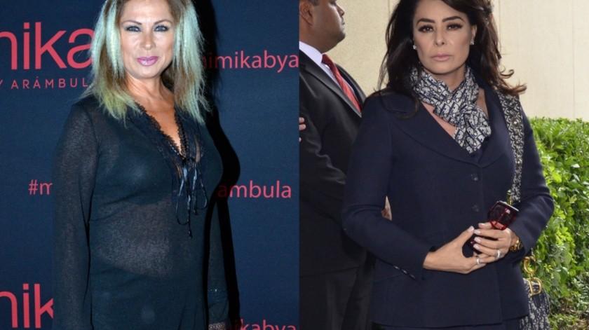 Leticia Calderón y Yadhira Carrillo siguen en guerra de declaraciones.(Agencia México)