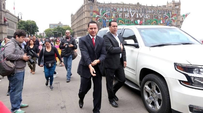 El ex gobernador de Nayarit, Roberto Sandoval, es acusado por EU de tener vínculos con el Cártel Jalisco Nueva Generación y los Beltrán Leyva.(Archivo.)