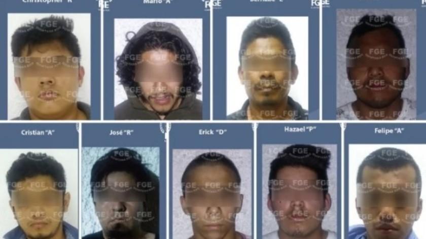 10 presuntos integrantes del CJNG son detenidos en Cancún(Especial)