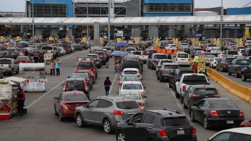 Comerciantes de la línea compartieron que de lunes a jueves sí hubo menos filas de espera.