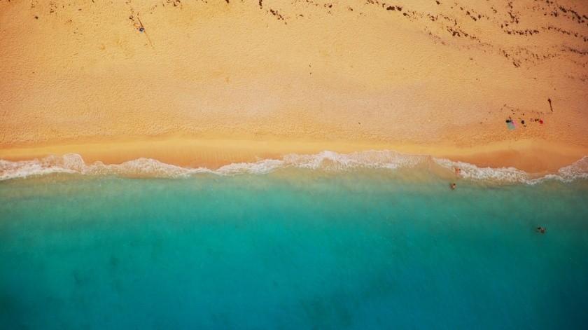 Las playas de arena ocupan más de un tercio de la línea de costa mundial.(Pixabay)