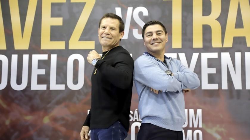 """Julio César Chávez y Jorge """"Travieso"""" Arce(El Imparcial)"""