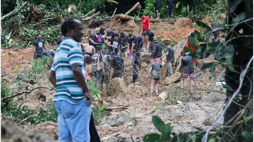 Los aguaceros de las últimas semanas también han afectado al estado de Río de Janeiro, donde al menos cinco personas murieron durante el fin de semana.(EFE)