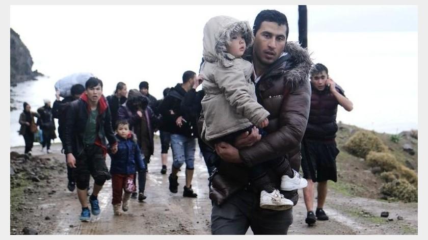 Los iraníes representan menos del 3% de los migrantes que llegan a Grecia y los afganos uno de cada dos.(AP)