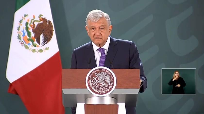 Andrés Manuel López Obrador(Captura de video)