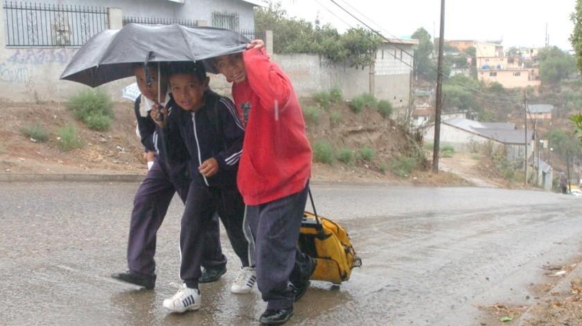Evitarán que los menores corran riesgos por las lluvias.(Archivo)