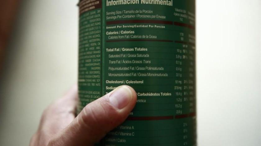 A partir de octubre habrá nuevo etiquetado para alimentos y bebidas no alcohólicas(EFE)