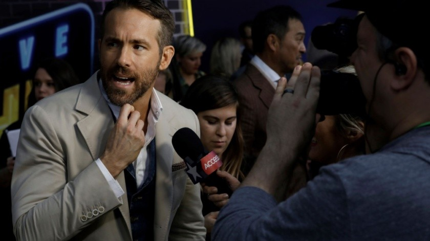 El actor canadiense Ryan Reynolds.(EFE)