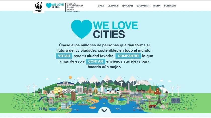 Hermosillo participa en la campaña We Love Cities del Fondo Mundial para la Naturaleza.(Captura)