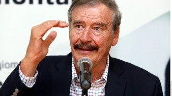 "Vicente Fox califica de ""patán"" y ""presidente bananero"" a Donald Trump"