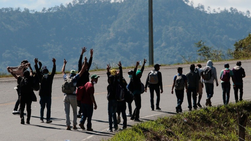 Disminuye 50% paso de migrantes por Sonora debido a la pandemia(The Associated Press)