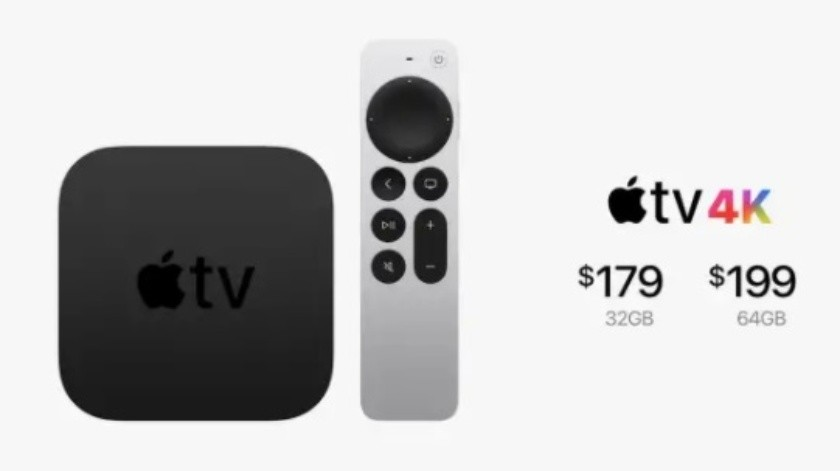 Llega Apple TV y su control remoto con Siri(Apple)
