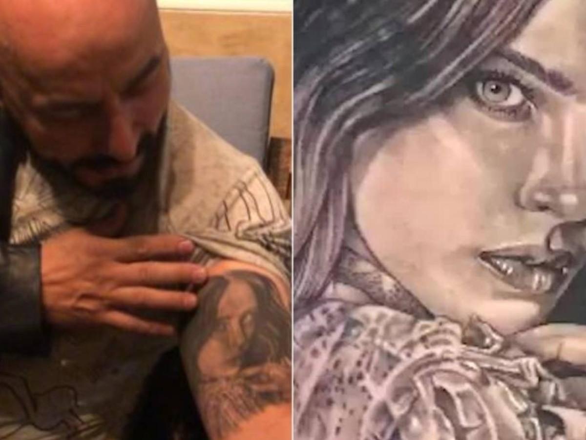 Lupillo Rivera se borra el tatuaje de Belinda tras enterarse que se casará  con Nodal   EL IMPARCIAL   Noticias de México y el mundo