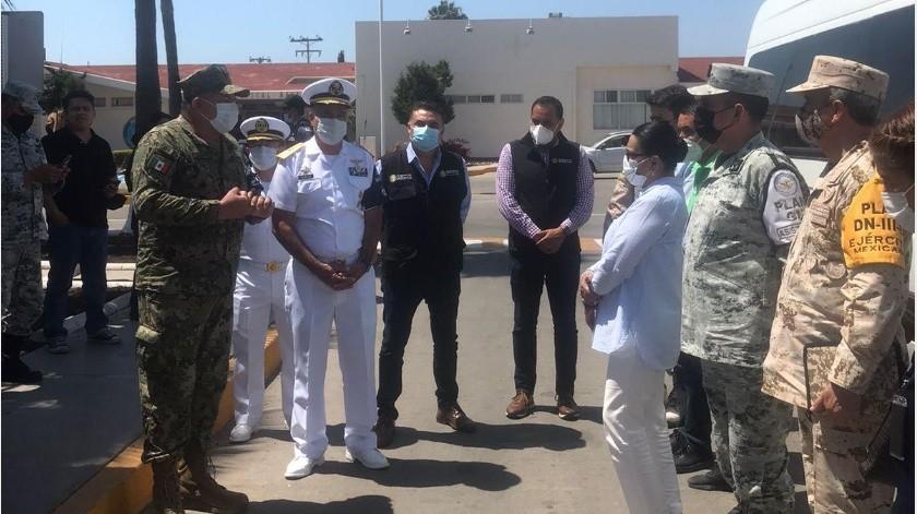 Fortalece a Baja California visita de secretaria de Seguridad Pública Federal: Alejandro Ruiz Uribe