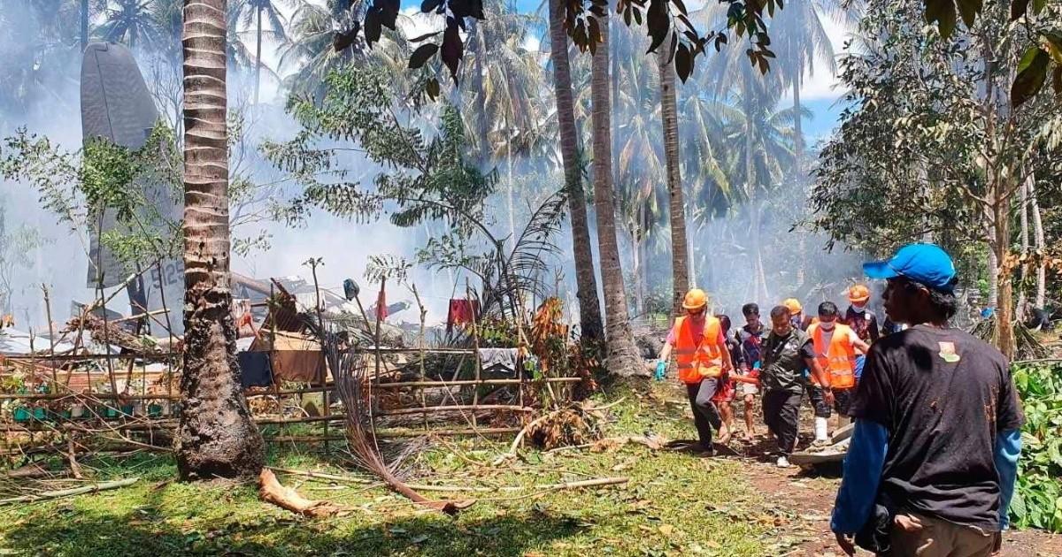 Accidente de avión militar filipino: aumenta a 50 el número de personas  fallecidas | EL IMPARCIAL | Noticias de México y el mundo