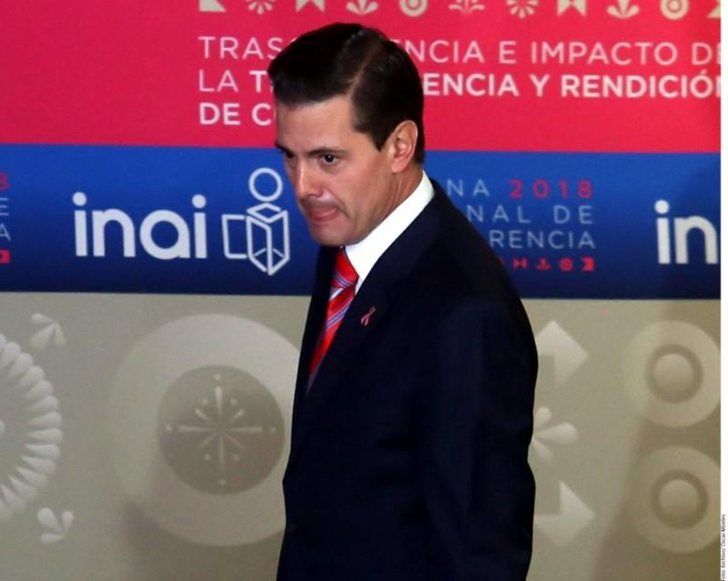 Enrique Peña Nieto señalado de haber espiado con Pegasus a AMLO