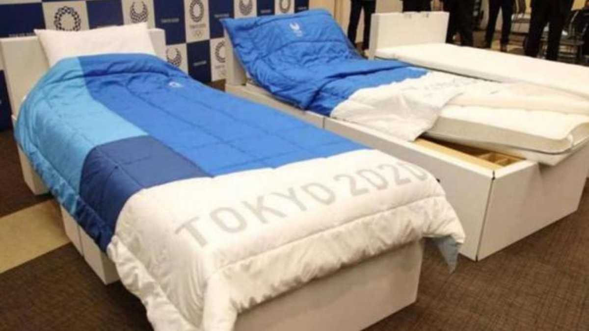 Gimnasta pone a prueba las camas de los Juegos Olímpicos | Noticias de  México | EL IMPARCIAL