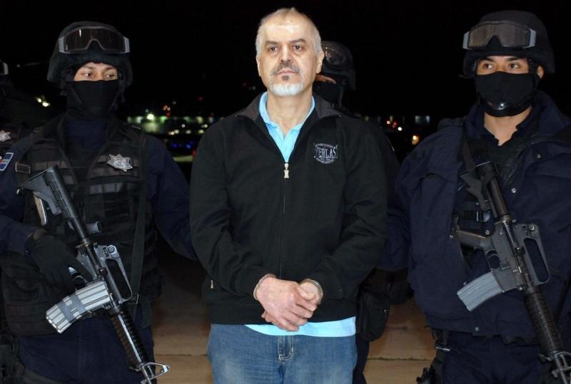 Fotografía de archivo fechada el 26 de octubre de 2008 y cedida por la Secretaría de Seguridad Pública (SSP) que muestra a Eduardo Arellano Félix, alias 'El Doctor'. EFE/SSP