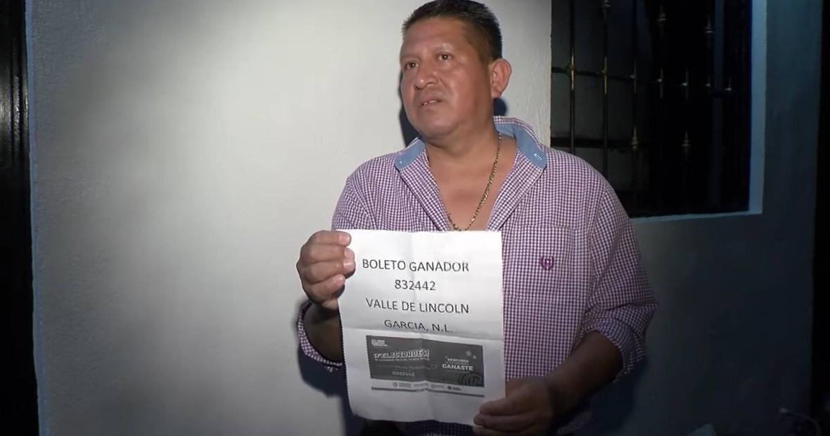 Ganador del palco del Estadio Azteca recuerda que 'no le gusta el futbol' y ahora busca donarlo