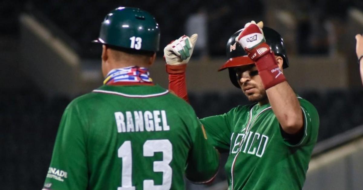 México ataca en el sexto inning y derrota a Dominicana en Copa Mundial de Beisbol Sub-23