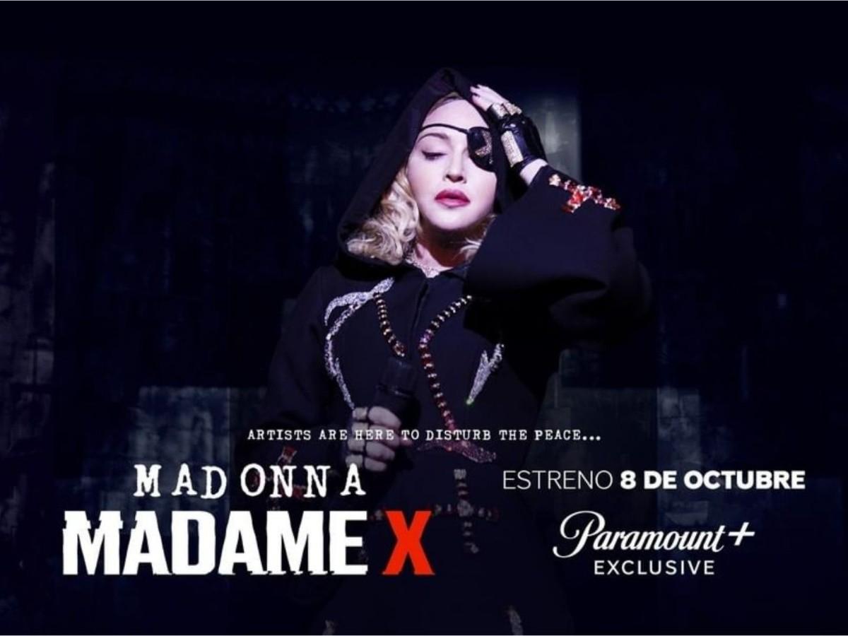 Madame x': el nuevo documental de Madonna para Paramount Plus | Noticias de México | EL IMPARCIAL