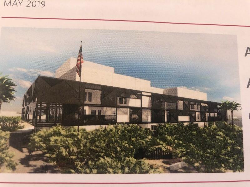 El nuevo Consulado constará de un complejo de edificios sostenibles.