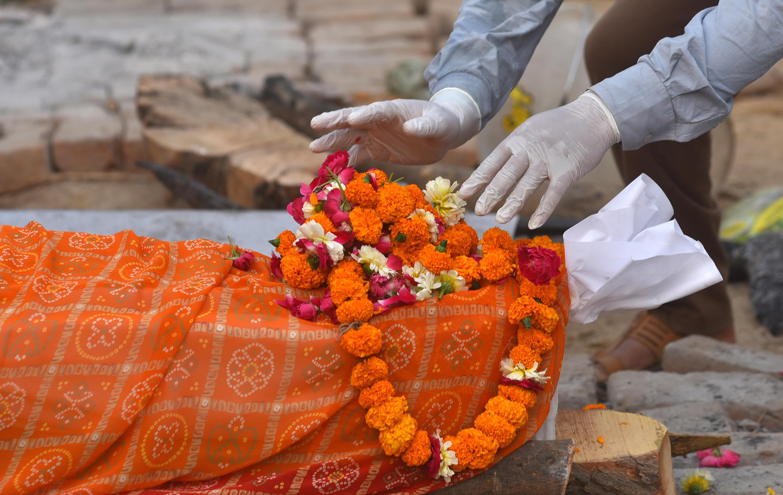 Hay un repunte de casos de Covid-19 en India. EFE/EPA/IDREES MOHAMMED/Archivo