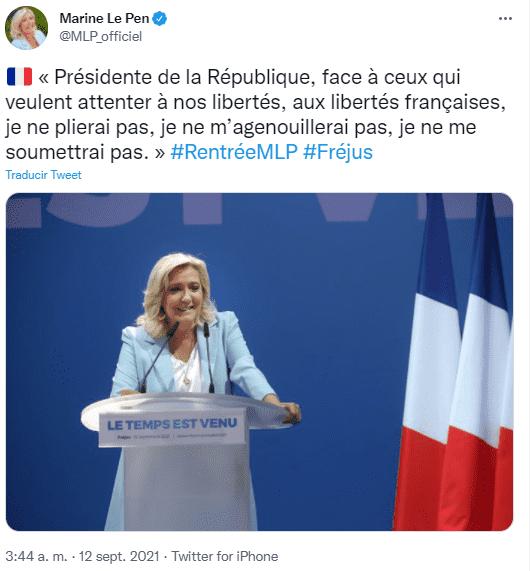 Dos mujeres buscan ganar la presidencia de Francia en las próximas elecciones
